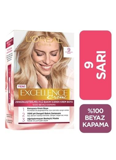 L'Oréal Paris Excellence Creme 9,RNKL Renkli